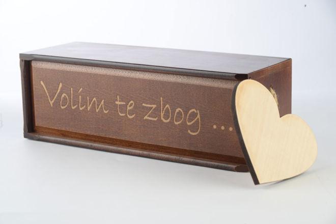 Schiebedeckelboxen aus Buche