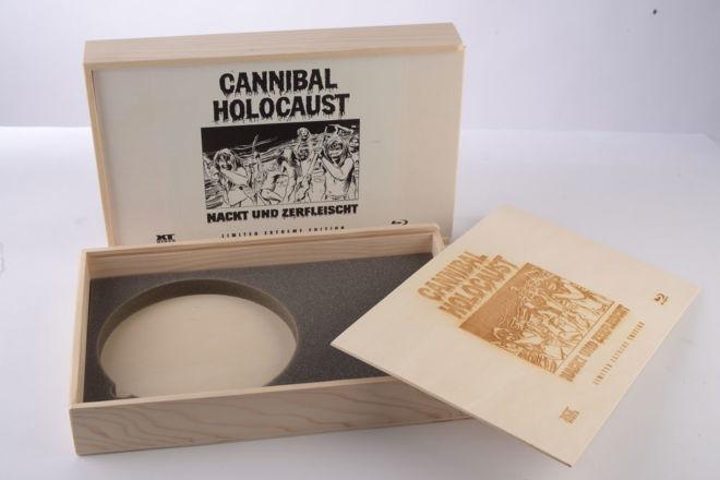 Holzbox für DVD und BROSCHÜREN