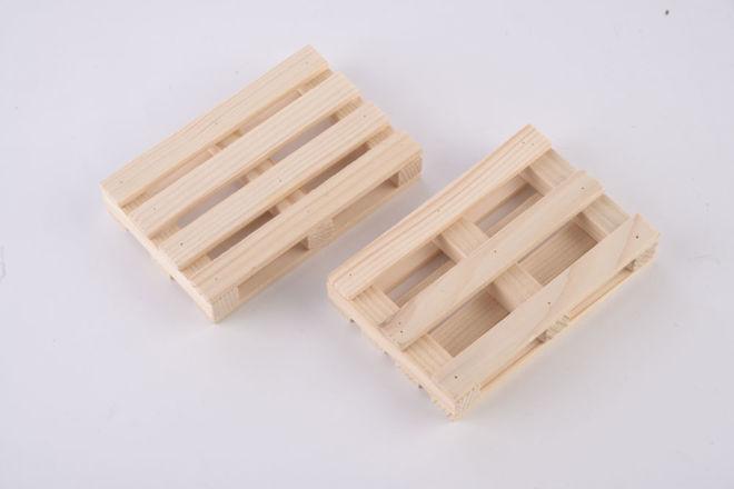 Drvena paletica kocka papir