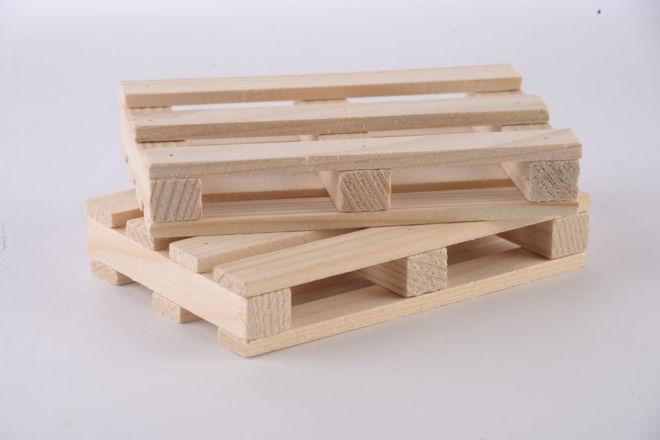 Drvena paletica za blok papir