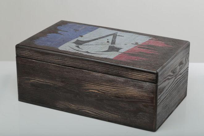 drvena kutija za aranžiranje