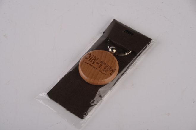 Schlüsselanhänger mit Lasergravur