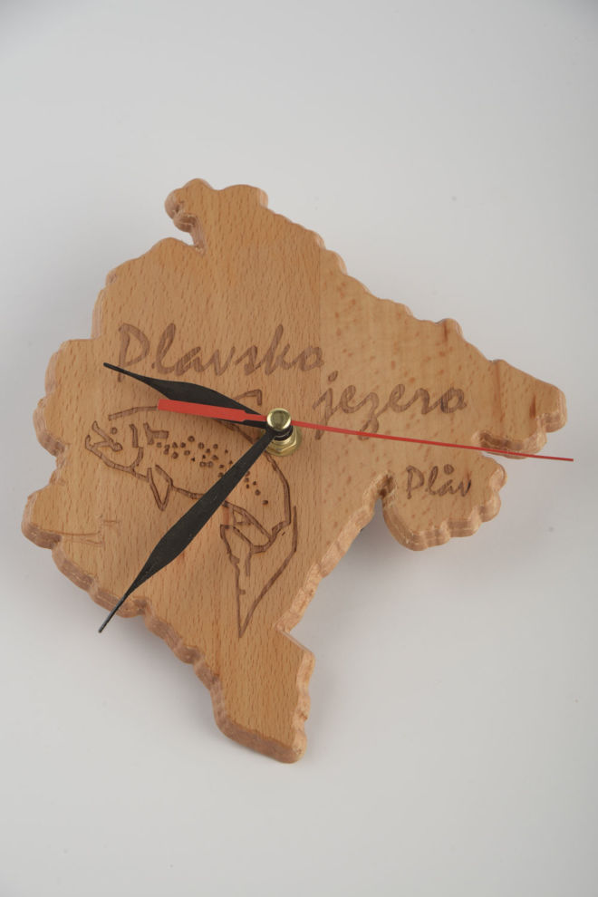 WOODEN CLOCK DESIGNED BY WISH