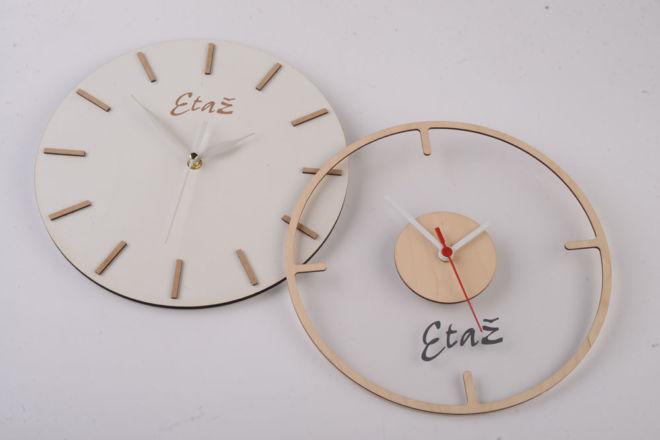 drveni zidni sat