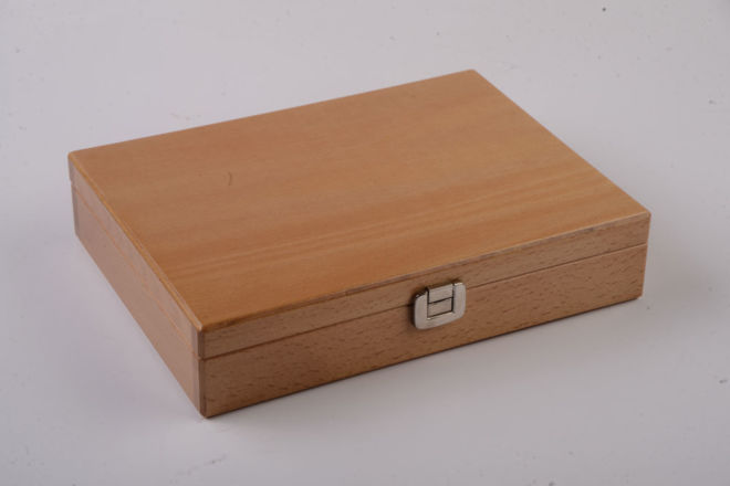 WOODEN CABLE BOX