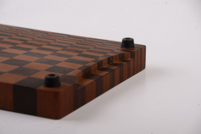 WOODEN BOARD MOSAIC FOR CUTTING