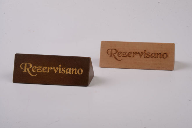 WOODEN RESERVATIONS
