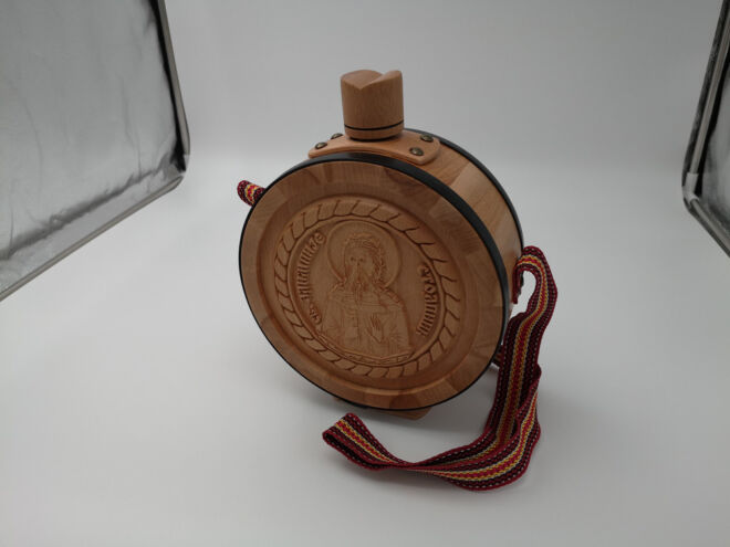 drvena čutura CNC