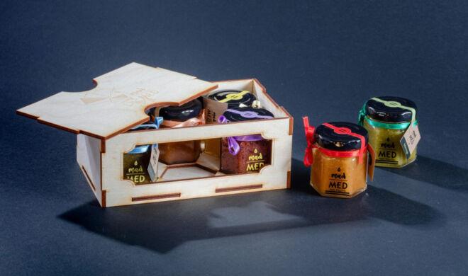 drvena kutija za teglice