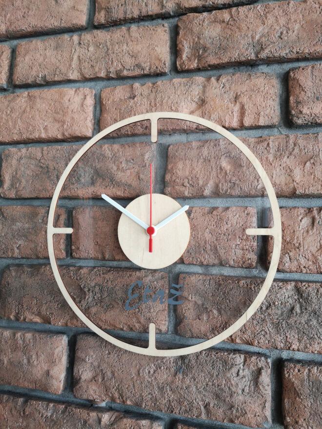 drveni kliritni sat