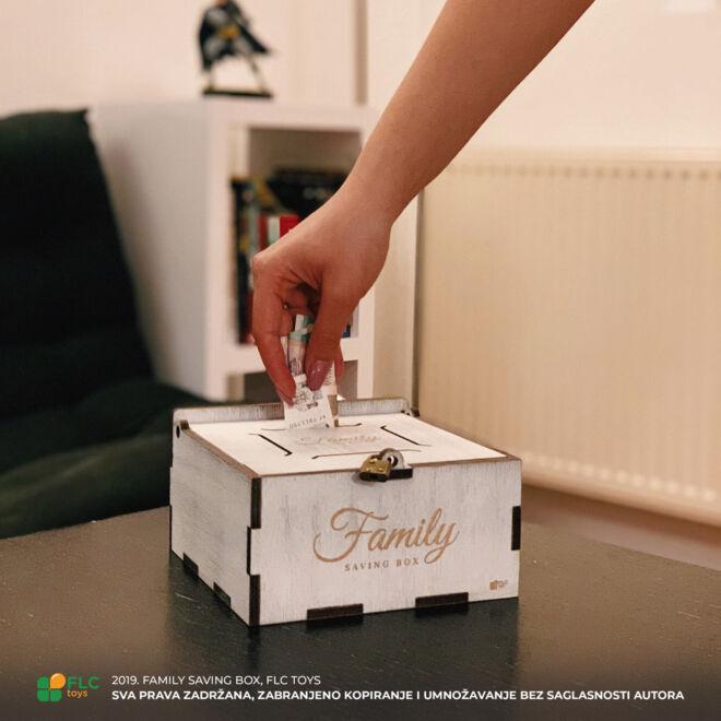 kutija za novac family saving box