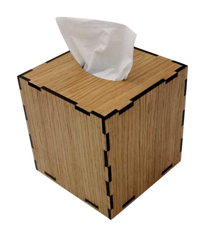 Drvena kutija za maramice