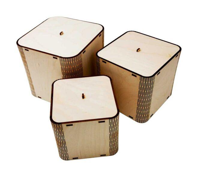 Set četvrtaste kutije