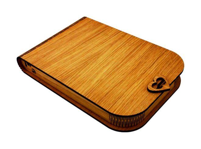 drvena kutija za album