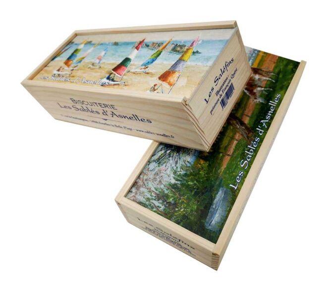 Drvena kutija za keksiće