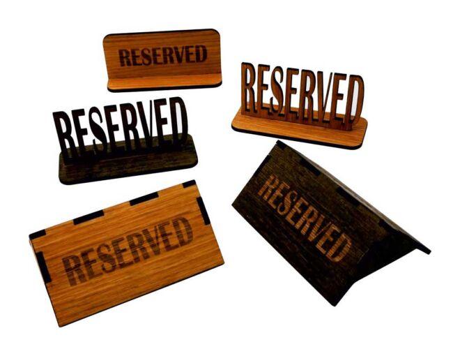 restoranske rezervacije drvene